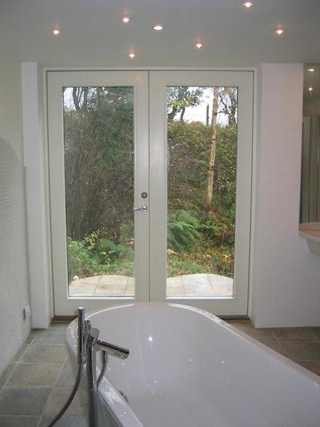 En-suite over looking stream and garden