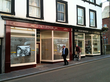 Portofinos and CG Curiosity - Market Place, Cockermouth