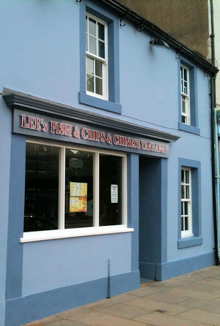 Lee's Fish & Chip Shop, Cockermouth